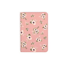 Farfi Animal Plant Women Travel Passport Card Holder Case Protector Storage Bag
