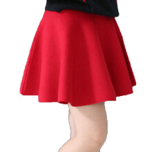Anamode Princess Skirt Kids Knitting Short Pleated Dresses Clothing -