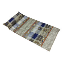 THE LUXE Sleepmaker camping Mat –Stripe Plaid 90x190