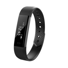 PEKY watch ID115 HR Smart Bracelet Fitness and Sleep Tracker Pedometer Heart Rate Monitor Smart band Wristband