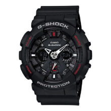 Casio G-SHOCK GA-120-1A Sports waterproof electronic watch-Black