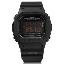Casio G-SHOCK DW-5600MS-1D Sports waterproof electronic watch-Black