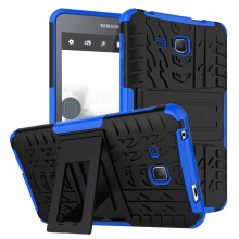 RockWolf Samsung Tab A 2016 7.0 inch / T280 case TPU anti-fall colorful back clip bracket flat shell