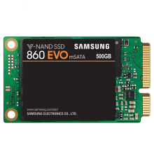 OAC SAMSUNG 860 EVO mSATA 500GB SSD Internal Solid State Disk V-NAND Hard Drive For Laptop Desktop PC Original MZ-M6E500BW/CN 500GB