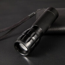 [kingstore]Aluminum Alloy Strong Light Led Telescopic Focusing Flashlight Multicolor Multicolor
