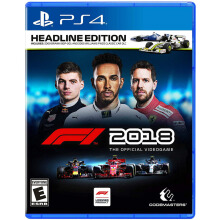 SONY PS4 Game F1 2018 [Headline Edition] - Reg 3