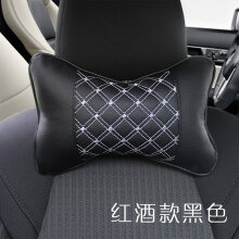 The Little Things Bantal Mobil Leather Premium Cushion Headrest 2in1