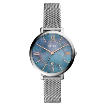 Fossil ES4322 Jacqueline Ladies Blue Mother of Pearl Dial Stainless Steel Strap [ES4322]