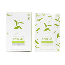 EPONA JEJU GREENTEA INTENSIVE WHITENING FACE MASK (exp 08 Agus 2019)