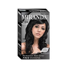 MIRANDA Hair Color Natural Black 30 Gr
