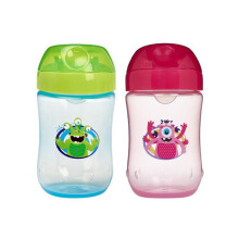 Dr. Brown's Soft Spout Toddler Cup 9m+ - Monster (Tersedia Pilihan Warna)