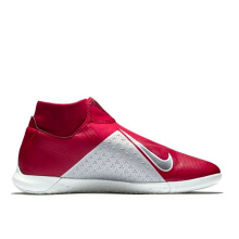 NIKE Phantom VSN Academy DF IC - Team Red/Mtlc Dark Grey-Bright Crimson