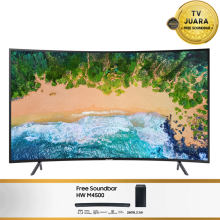 [BP] SAMSUNG UHD 4K Curved Smart LED TV 55 Inch - UA55NU7300 TV JUARA [SAMSUNG ONLINE PRIORITY]