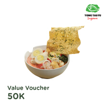 Yong Tau Fu Singapore - Voucher Value Rp. 50.000