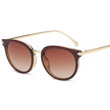 SiYing European and American trend with arrow round sunglasses