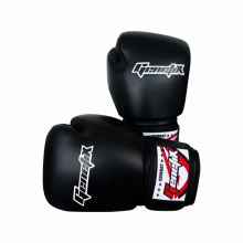 GENETIX Boxing Gloves COMBAT Skintex GBG4 Black