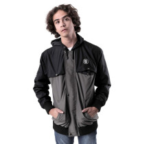 G-SHOP - MEN SWEATER JAKET HOODIES DISTRO PRIA - GUN 1330 - HITAM SIZE- M