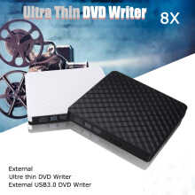 Blitzwolf USB 3.0 DVD Recorder External Optical Drive DVD Burner Slim Ultra DVD-ROM Player Portable Sucker Driver For Notebook Laptop White