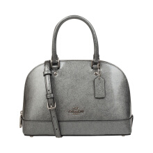 Coach MINI SIERRA Women's Shiny Silver Grey Crossbody Bag F29134SVSO