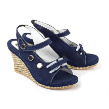 WEDGES KASUAL WANITA - LCC 918