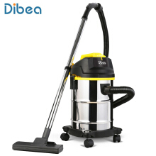Dibea DU100 Household Barrel Type Wet / Dry Vacuum Cleaner Cleaning Machine EU Black