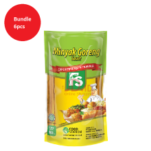FOOD STATION Minyak Goreng Super 900 ml x 6pcs