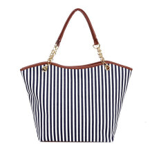 [LESHP]Womens Canvas plaid Handbags Girls Tote Satchel Beach Shoulder shopping Bags Black
