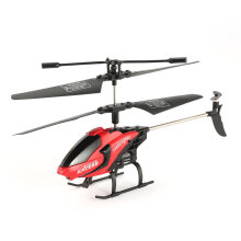 COZIME FQ777 610 3CH Mini Helicopter RC Infrared Drone Aircraft  6-Axis Toy Gift RTF Red