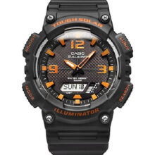 Casio AQ-S810W-8A Sports double display waterproof electronic watch-Grey