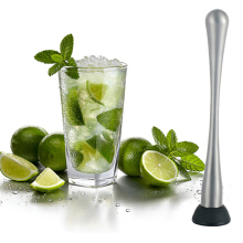 JDWonderfulHouse JDwonderfulhouse Stainless Steel Cocktail Mojito Mixer Muddler Ice Crushed Hammer Bar Accessories