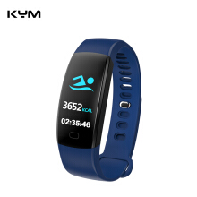 KYM F64HR Heart rate Smart band Color screen Blood pressure oxygen Fitness tracker smart bracelet Fitness tracker