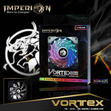 Fan / Kipas Gaming Imperion FA-G12-06 Vortex 120mm, 5-Colour RGB