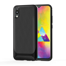 Queenfish SAMSUNG Galaxy M20 case the cover for SAMSUNG Galaxy M20 Black For SAMSUNG Galaxy M20