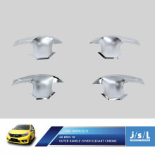 JSL Mangkok Pintu All New Brio 2018 Elegant Chrome Outer Cover