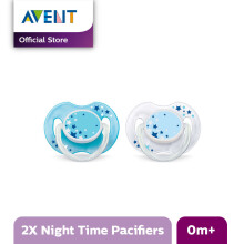 AVENT SCF176/18 Soother Nighttime 0-6M - Blue