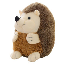 [COZIME] Lovely Soft Hedgehog Animal Doll Cute Plush Toy Simulation Animal Appease Doll Grey
