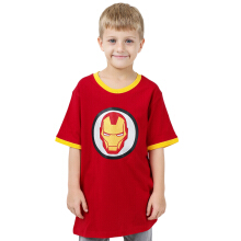 MARVEL Iron Man Icon Kids T-shirt W229 – Red