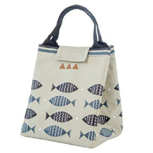 RADYSA Lunch Bag Fish - Abu Grey