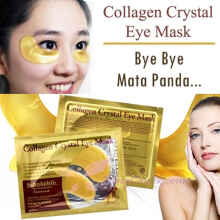kuke MASKER MATA - crystal collagen gold eye mask ORIGINAL BEST SELLER Gold