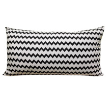 SLEEP MAX Body Pillow - Chevron Black / 50x90cm