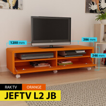 Pro Design Meja Televisi Jef-ORANGE (JEFTV L2 JB)