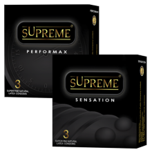 Supreme Kondom Sensation + Performax