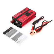 [COZIME] 3000W Solar Power Inverter DC 12V to AC 220V LED Display Sine Wave Converter Red
