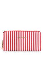 Les Catino Naval Wallet White Red