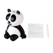 [COZIME] USB Animal Panda Shape Air Purifier Home Office Humidifier Mist Maker White & Black1