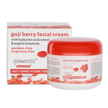 [COZIME] Portable Home Health Cream Goji Berry Facial Cream Skin Care Accessories Red&White1