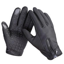Farfi Winter Autumn Windproof Waterproof Touch Screen Sports Gloves Motorcycle Glove Black XL