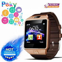 PEKY DZ09 Smart Watch Support SIM TF Cards For Android IOS Phone Children Camera Bluetooth Watch
