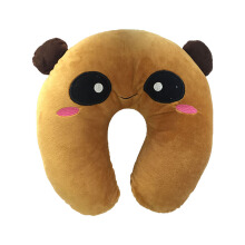 Bless Toys Bantal Leher Panda Brown - BLPD0001