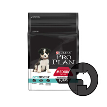 PRO PLAN 12 kg puppy medium sensitive digestion optidigest